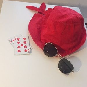 Cute Retro Red Bucket Hat!
